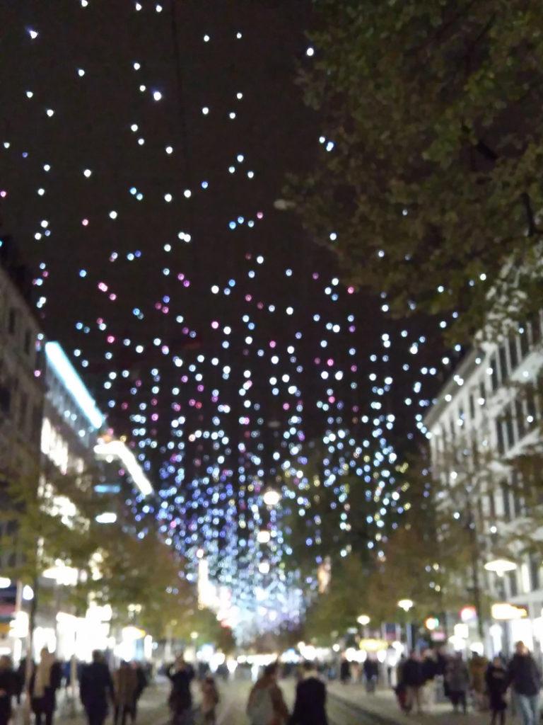 Advent in Zürich mit kleinen Kindern Weihnachtsbeleuchtung