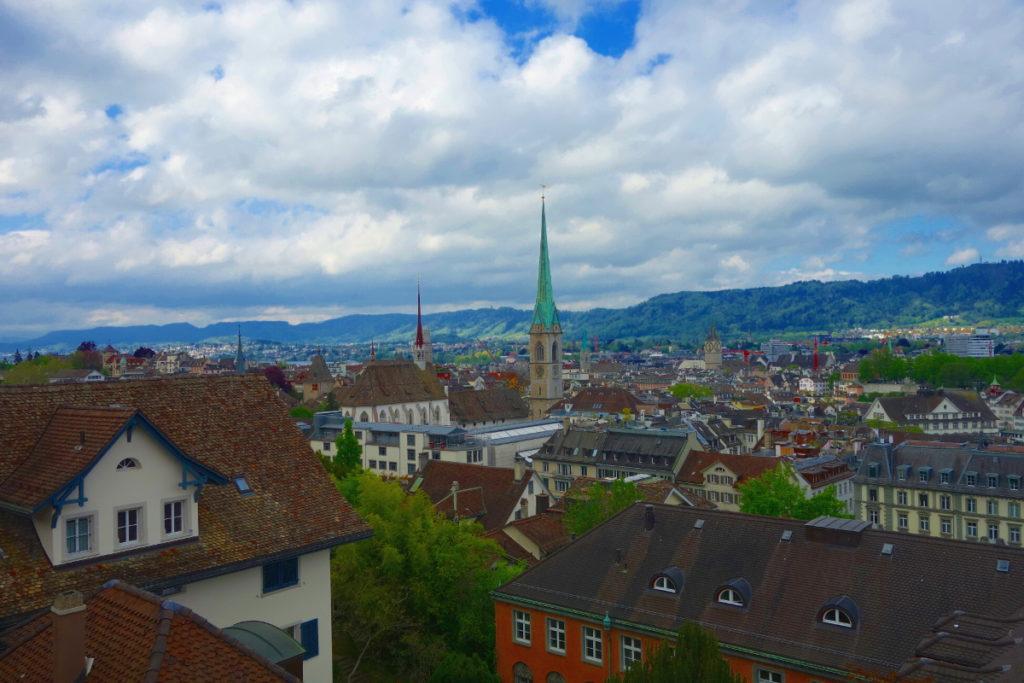 Zürich Geheimtipp 4: Polyterasse
