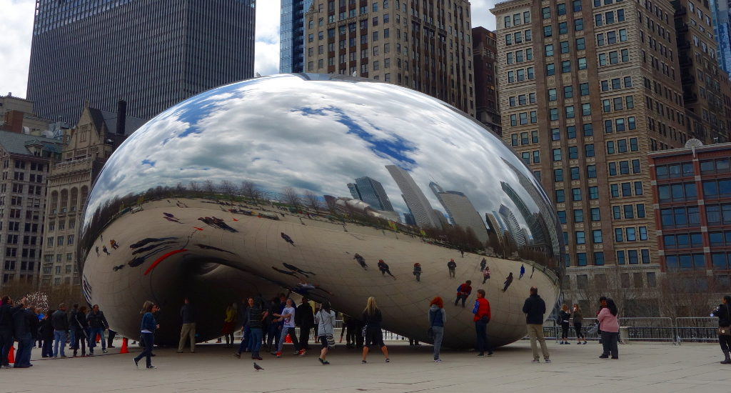 USA Chicago Cloud Gate