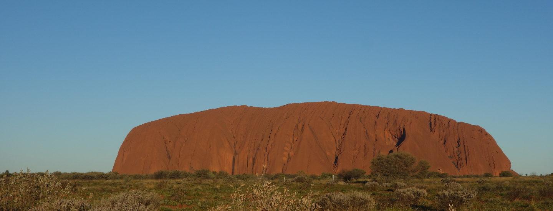 Australien Outback Uluru