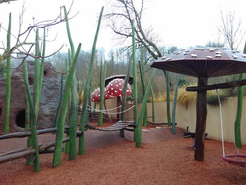 Spielplatz im Zoo Zürich